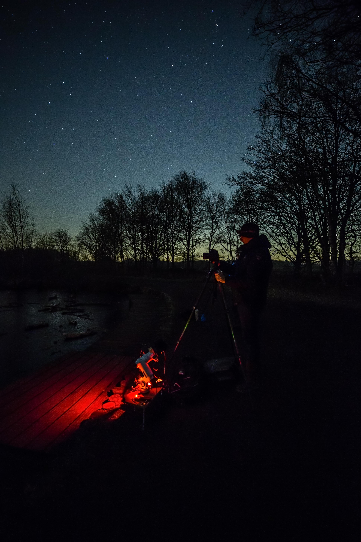 Een avondje sterren fotograferen