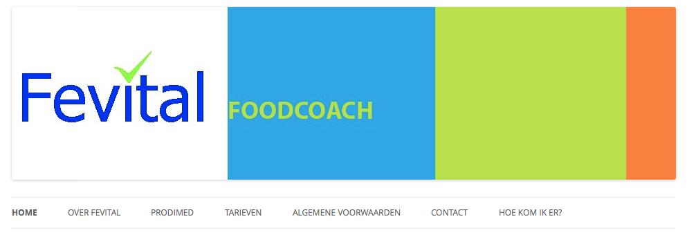 Een website voor Fevital Foodcoach