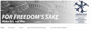 Een website voor For Freedom's Sake – een bijzonder crowdfunding initiatief