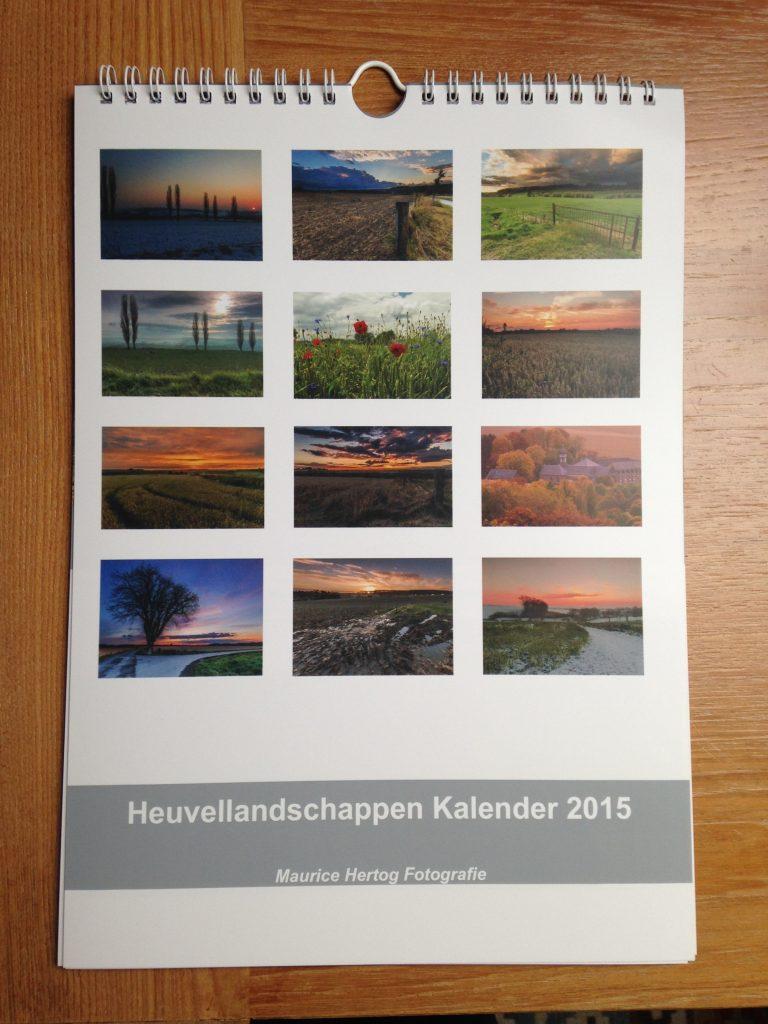 Nu te koop:  Kalender 2015