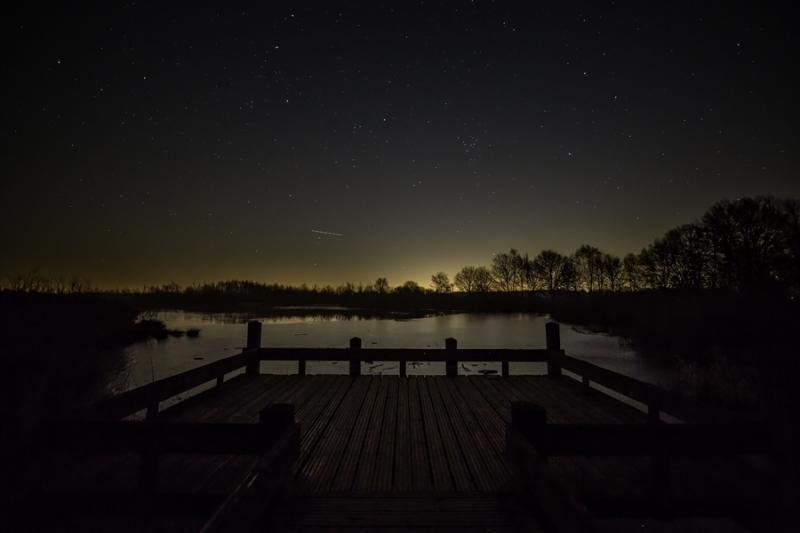 Peelvennen in de Nacht
