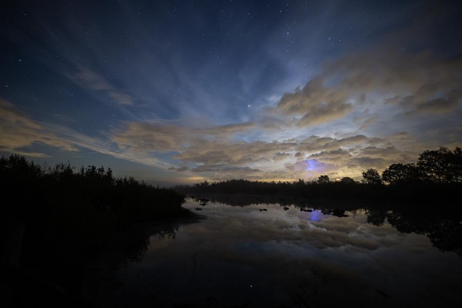 Een magische nacht in de Groote Peel