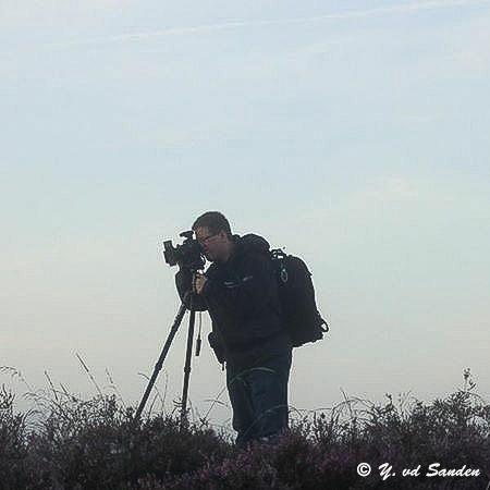 Fotograaf in de mist