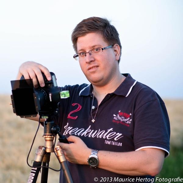 Landschapsfotograaf Maurice Hertog
