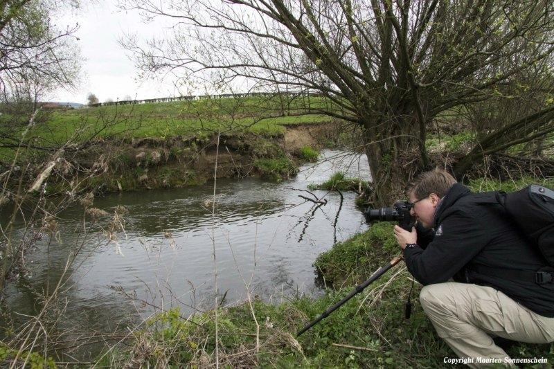 De fotograaf in actie