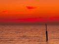 Zonsondergang op het IJsselmeer (VIII)