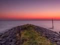 Verstilde zonsondergang (Stavoren)