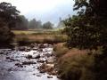 Irish weather, Glendalough Abbey