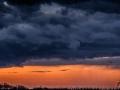 Panoramische regenwolken, Sint Geertruid