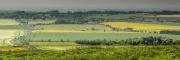 Akkers vanaf Hackpen Hill, Wiltshire