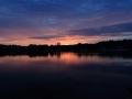 Het blauwe uur (Lac d'Aillette, Frankrijk)