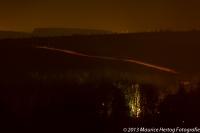 Nachtelijke heuvels