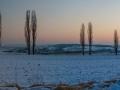 Gouden winteravond (Geuldal, Heuvelland)