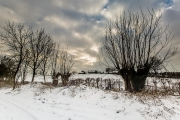 04012404 - Winterlandschap, Honthem