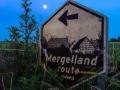 De Mergellandroute in het blauwe uur, Gulperberg