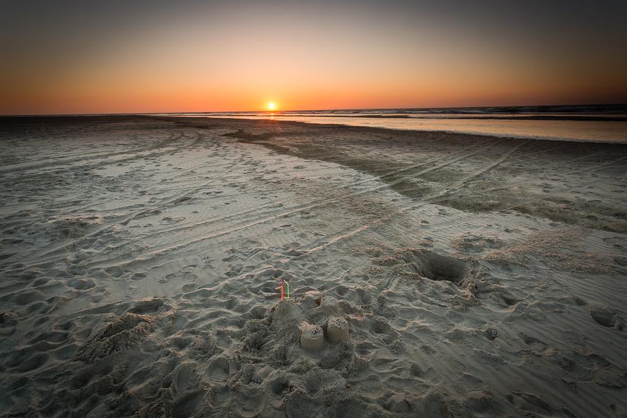 Zandkasteel, Texel
