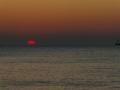 Texelse zonsondergang, Den Hoorn