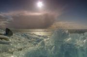 Zon en ijs, Markermeer