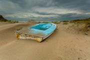 De naderende storm, Texel